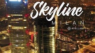 Skyline Milan Italy | the Drone Perspective | Milano Italia dall