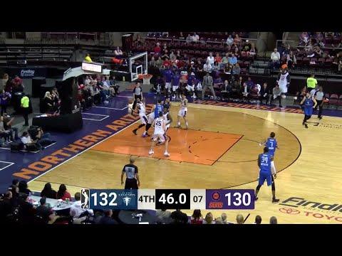 Brandon Ashley (21 points) Highlights vs. Northern Arizona Suns