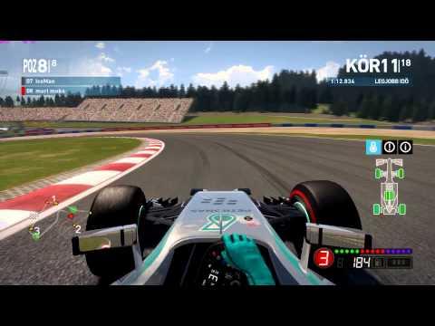 F1 2014 - A1 RiNG - Végre nem utolsó lettem