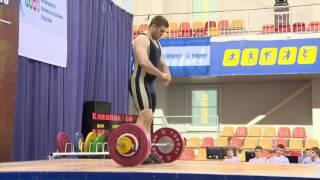 Тяжелая атлетика. Чемпионат Украины-2016. Мужчины, до 105 кг, группа А. Городок, Хмельницкая область