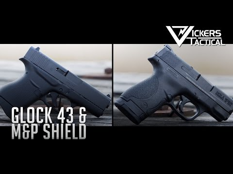 Glock 43 And M&P Shield