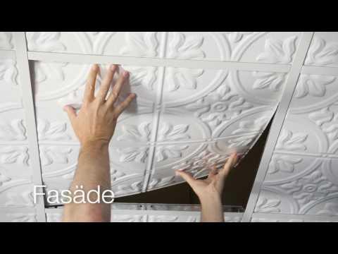 Fasade Decorative Ceiling Tiles