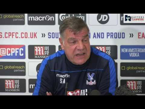 Allardyce urges Palace to 'get job done'