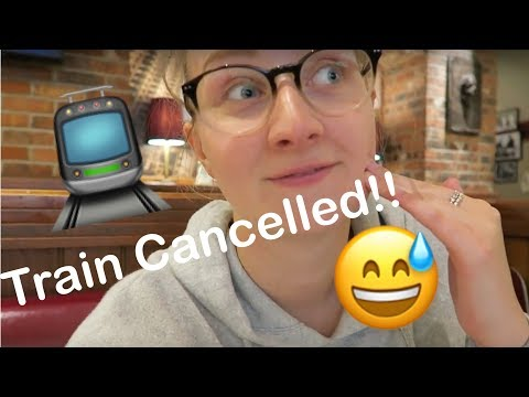 TRAIN WAS CANCELLED | Amsterdam Day 1 2017 | Amy Parton