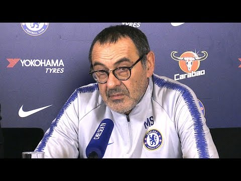 Maurizio Sarri Full Pre-Match Press Conference - Tottenham v Chelsea - Carabao Cup Semi-Final