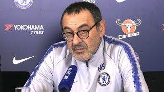 Maurizio Sarri Full Pre-Match Press Conference - Tottenham v Chelsea - Carabao Cup Semi-Final