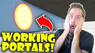 Actual Working Portals in This AMAZING Fortnite Creative Map!