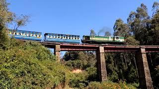Nilgiri Mountain Railway: Train to Ooty on the Wellington viaduct