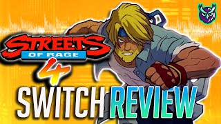 Streets of Rage 4 Switch Review - Bare Knuckle Brilliance (Video Game Video Review)