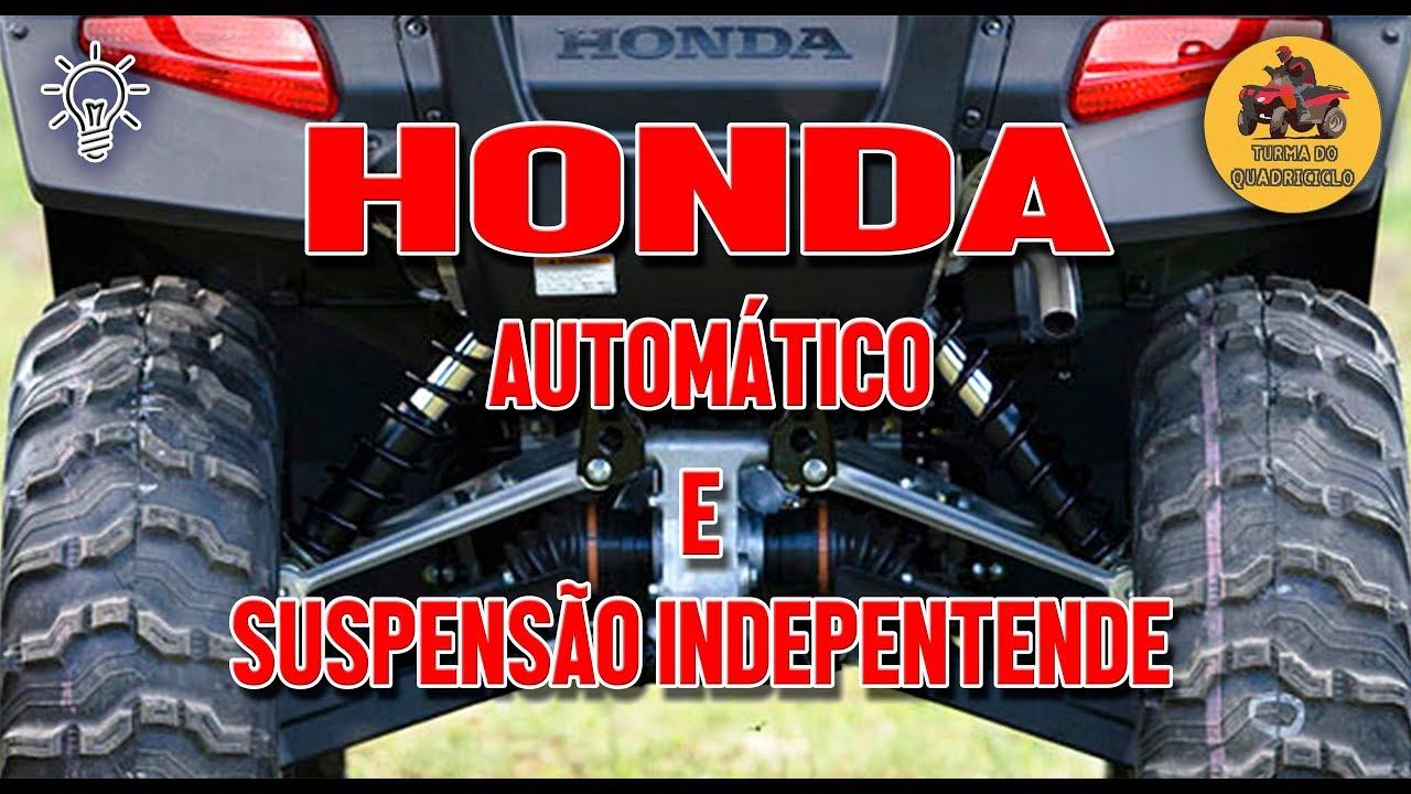 Ele Existe Honda Automatico Com Suspensao Independente Youtube