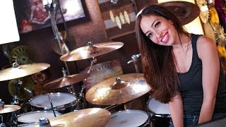 NIRVANA - COME AS YOU ARE - DRUM COVER BY MEYTAL COHEN