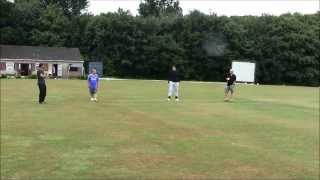 Tony Jimenez vs Matt Parsons - The Official 22 Yard Dash (Cricket Week 2013)