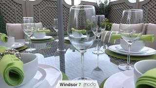 WINDSOR 7 - RATTAN SOFA SET AND DINING COMBO