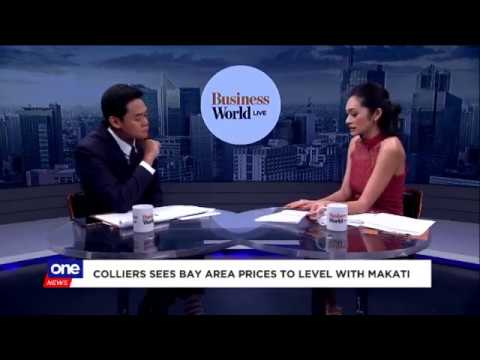 Colliers in the News | Manila Bay Area to Overtake Makati CBD by 2021 | Business World Live