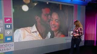 فيديو.. زواج إعلامية مسلمة من ممثل يهودي يثير الجدل في إسرائيل