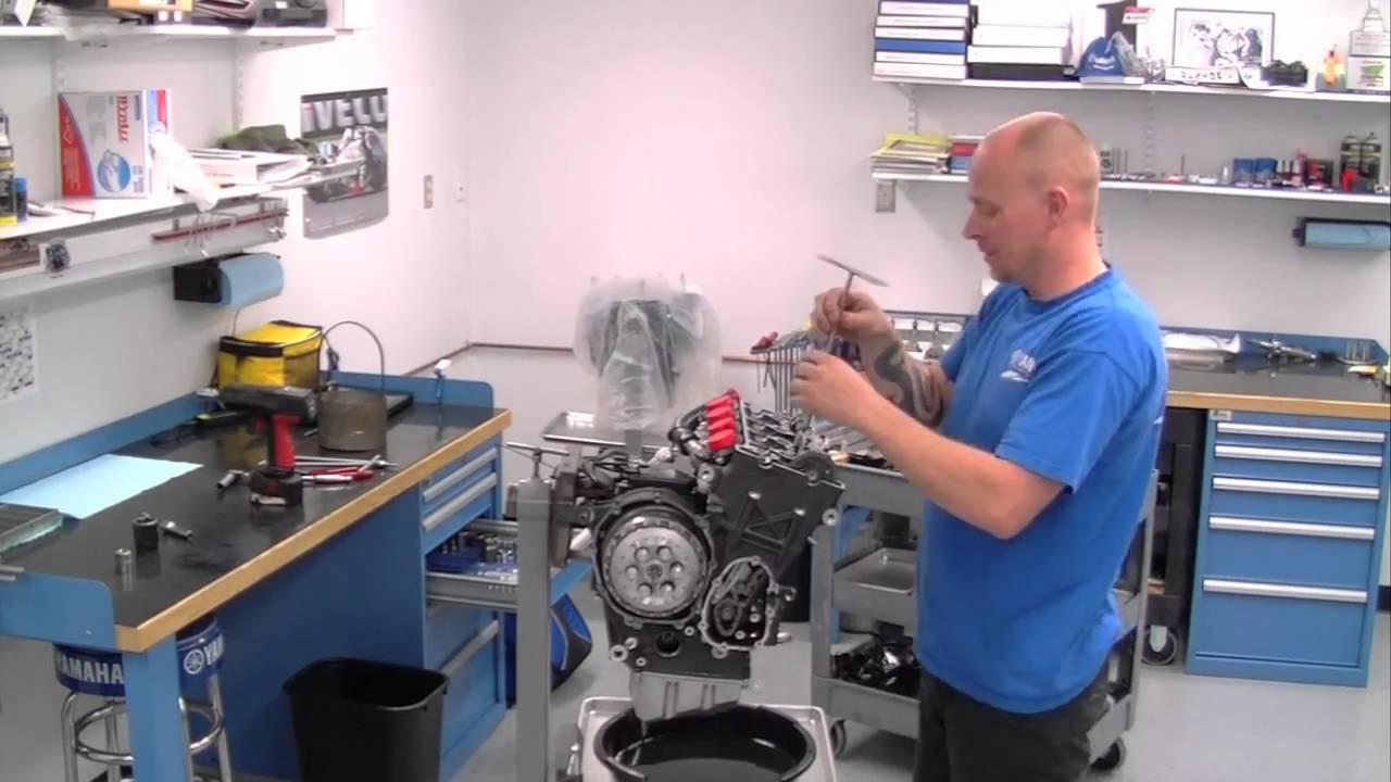Graves Motorsports Yamaha R6 Daytona Sportbike Engine