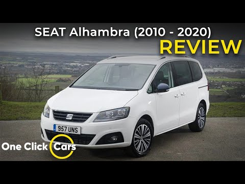 SEAT Alhambra Car Review - Value, Practicality and Technology