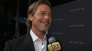 Brad Pitt Reveals WHY He's a Fan of Kanye West's Sunday Service (Exclusive)