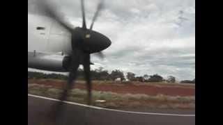 Decolagem no Aeroporto de Cascavel - ATR-72-600 da TRIP