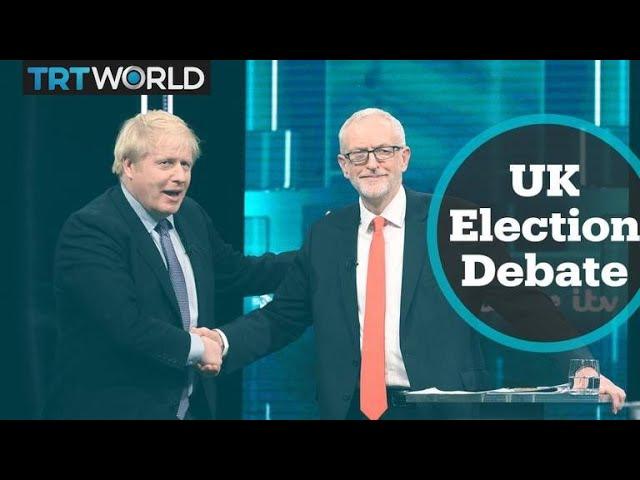 UK party leaders go head to head in televised debate