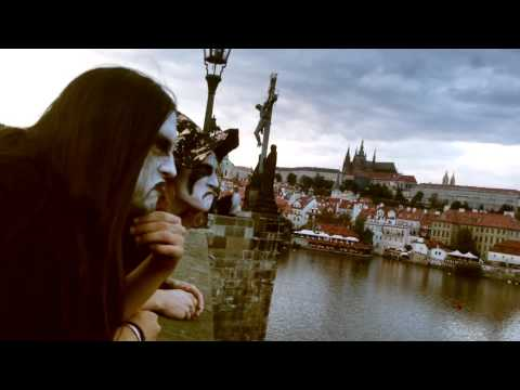 Black Metal Busking in Prague