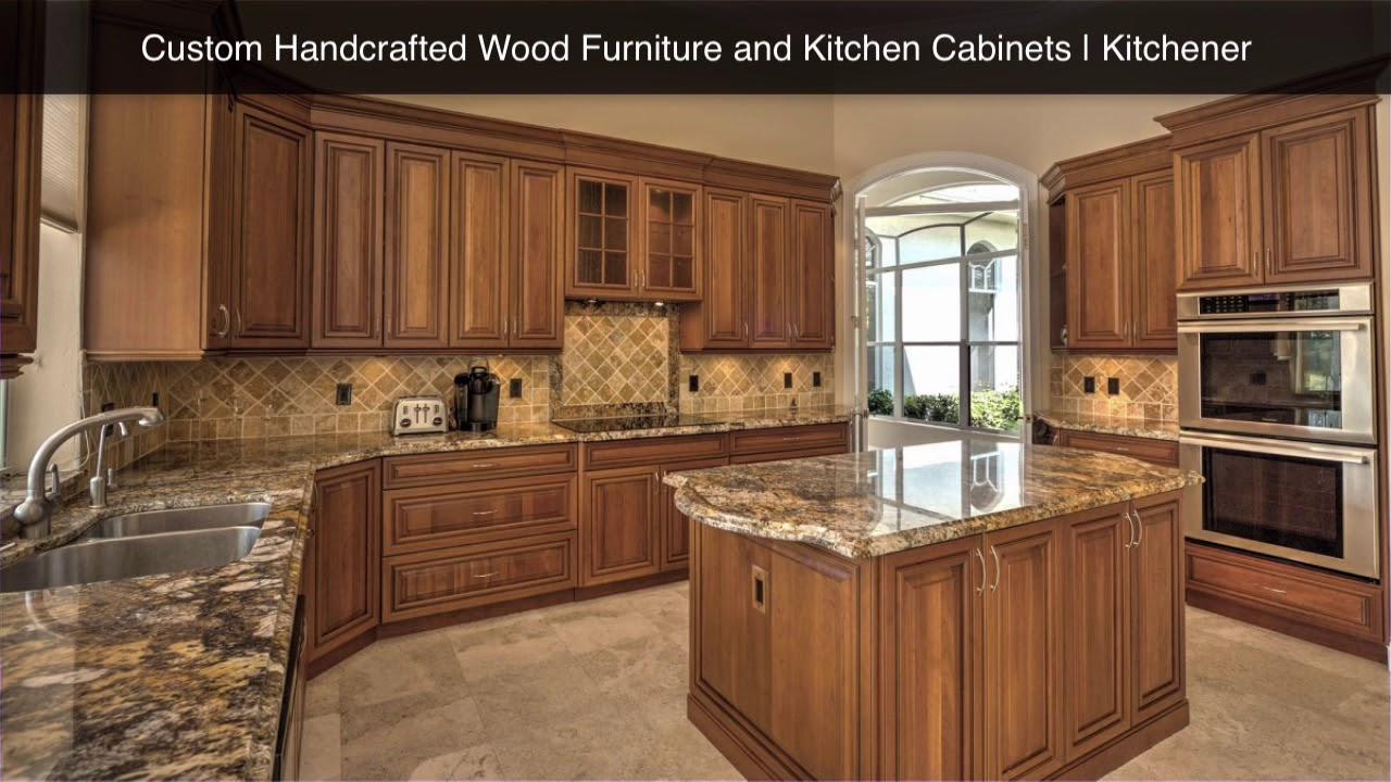 Custom handcrafted wood furniture and kitchen cabinets kitchener