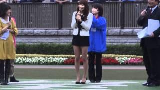 10月30日東京競馬場で行われたトークショーです.