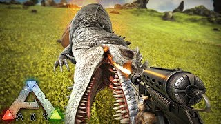 SNEAKING UP & KILLING THEIR PERFECT TAME GIGA - Ark Small Tribes PvP