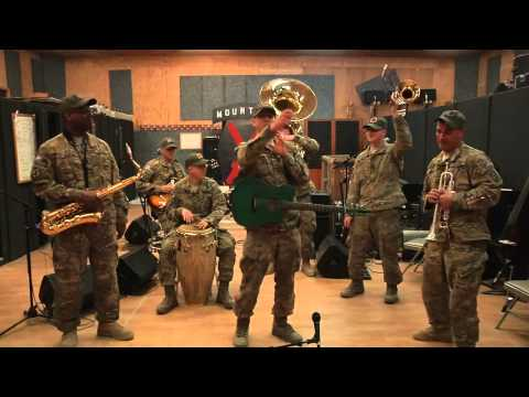 10th Mountain Division Band performance for kids