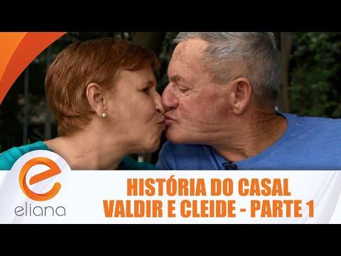 História do casal Valdir e Cleide - Parte 1 | Programa Eliana (29/07/18)