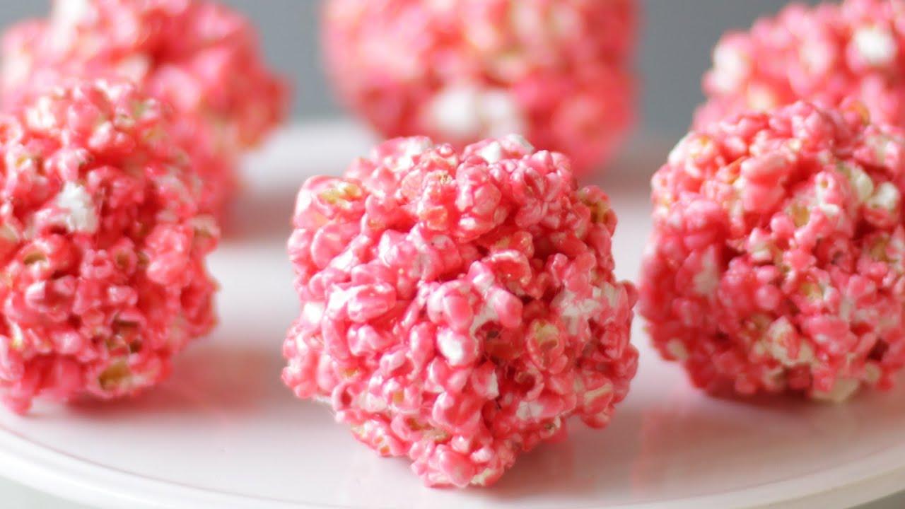 How to Make Popcorn Balls  Easy Homemade Popcorn Ball Recipe