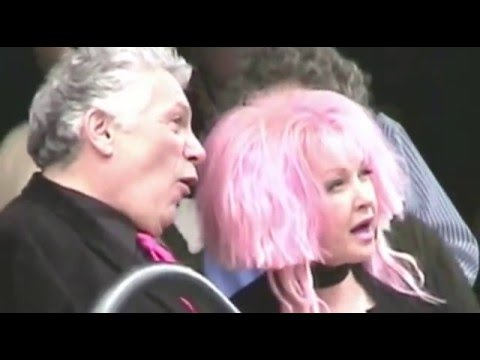 WALK OF FAME CEREMONY for Cyndi Lauper + Harvey Fierstein