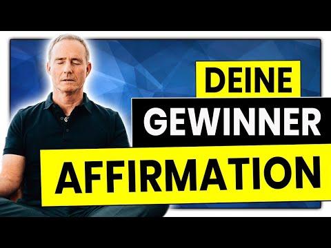 Gewinner AFFIRMATION | In 30 Tagen mehr Geld, Selbstliebe, Gesundheit, Erfolg, Glück | Bodo Schäfer
