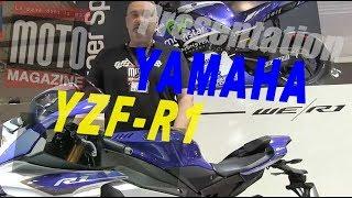 Nouveauté moto 2015  Yamaha YZF-R1