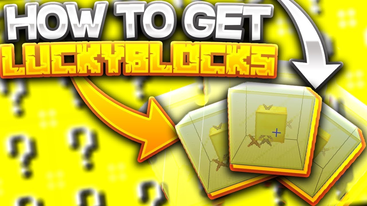 How to get Lucky Blocks - NO MODS!!!!!!! - Minecraft