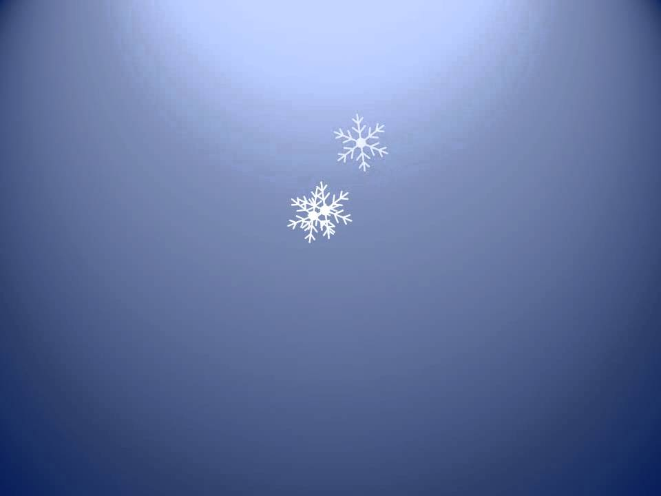 Snow Falling Animation Powerpoint