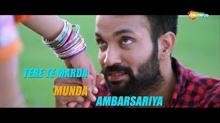 LYRICAL : Munda Ambersariya  | Happy Raikoti | Dilpreet Dhillon  | Punjabi Song @ShemarooPunjabi