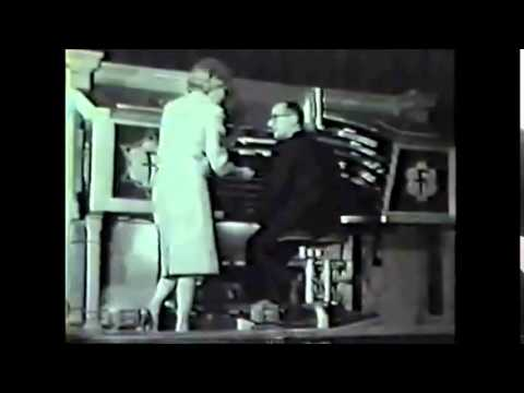 RUTH KENT AND BOB VAN CAMP AT THE FOX THEATRE 1963