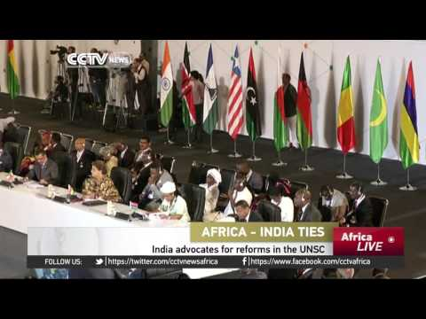 Africa-India ties: India advocates for reforms in the UNSC