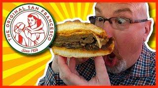 The Original San Francesco Sandwich - Veal Sandwich, Jalapeño, Mushrooms