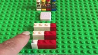 Лего - математика. Состав числа.