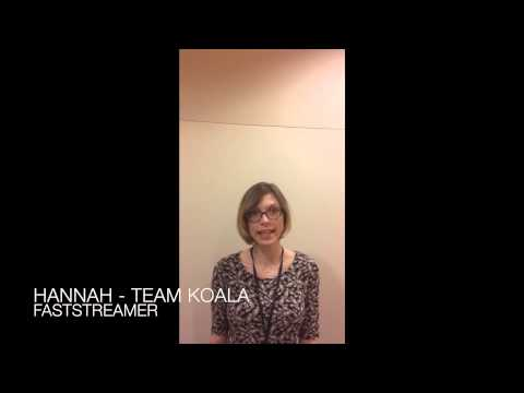 Team Koala: UK Civil Service Faststream The Fund Project