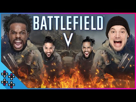 BATTLEFIELD V: WWE SUPERSTARS & PROS Squad Up for 4-on-4 GLORY! - UpUpDownDown Plays thumbnail