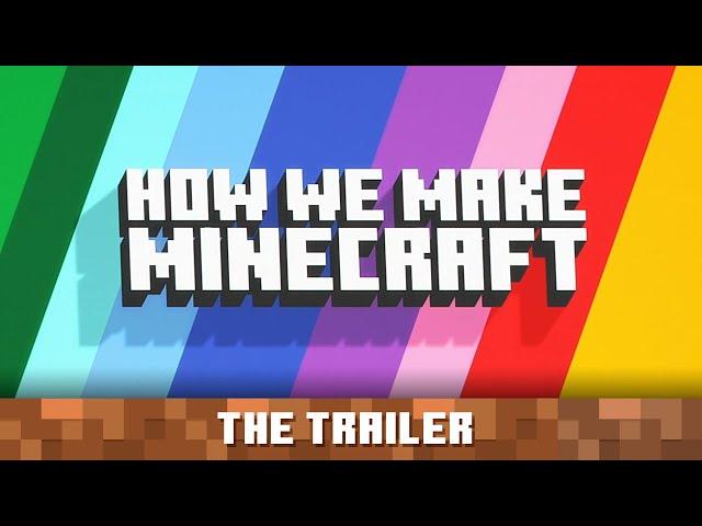 How We Make Minecraft – Trailer - Minecraft