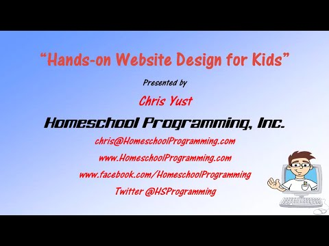 Web Design Tutorial for Kids