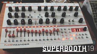 Flame Maander: desktop синтезатор и фильтр банк (Superbooth19)