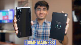 Xiaomi Mi Note 10 Global Unit Unboxing(India)🔥🔥108MP Camera Phone!