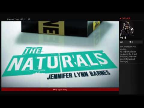 "Live Reading 1 ""The Naturals By Jennifer Lynn Barnes"""