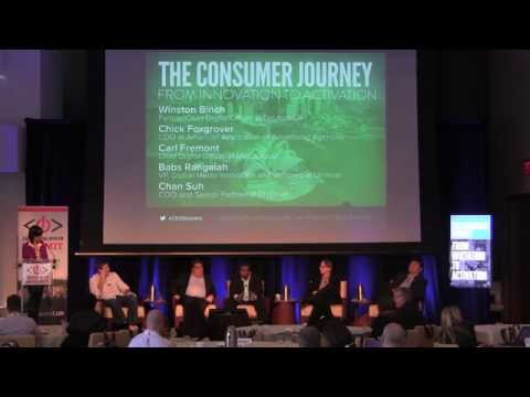 The Consumer Journey, From Invitation to Activation (Advertising panel from the CDO Summit 2014)