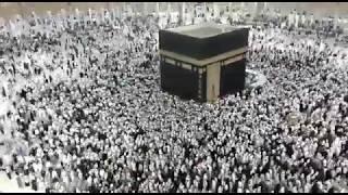 Tawaf e Kaaba in makka 2018.Umrah